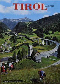 Wipptal mit Brennerautobahn