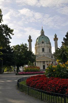 Karlskirche romantisch