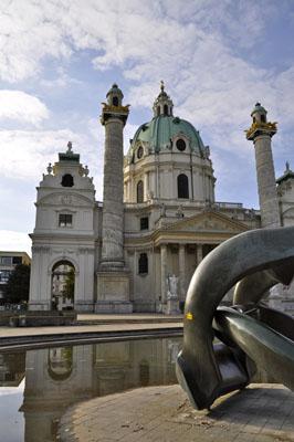 Karlskirche modern