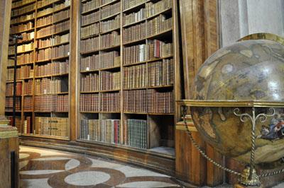 Zirka 200.000 Bücher aus dem Zeitraum 1501 bis 1850 sind hier untergebracht.
