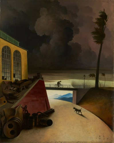 Franz Sedlacek: Gewitterlandschaft (1936); Museum der Stadt Linz; © Bildrecht, Wien, 2014