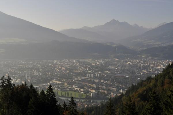 Innsbruck im Sommer