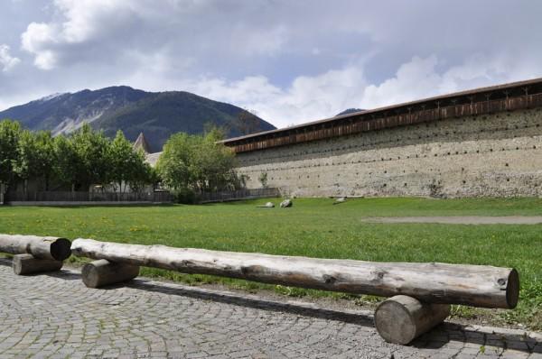 Die Stadtmauern sind vollständig erhalten (© gurschler)