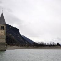 Reschensee_Kirchturm