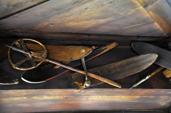 Dekoration in der Gaststube der Potsdamer Hütte (© Gurschler)