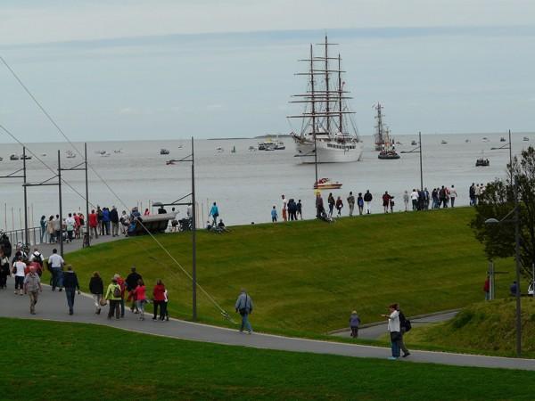 """Alle fünf Jahre kommen die """"Königinnen der Meere"""" zur """"Sail Bremerhaven. Foto: © Doerte Behrmann"""