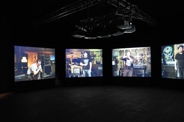 Hofgarten/Musikpavillon: Matt Stokes, Cantata Profana, Video-Ton-Installation 2010