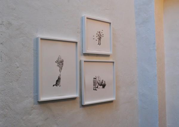 Galerie A4: Rachel Goodyear, Zeichnungen/drawings, 2013-2015