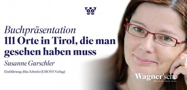 Buchpräsentation am 5. April 2016 in der Wagner'schen. Foto: © Wagnersche