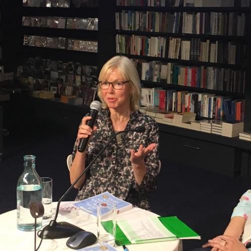 Britta Schmitz vom Emons Verlag kam aus Köln angereist. Foto: © Wagnersche